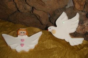 palomita y angelito...