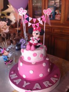 tarta MINNIE- Nayara